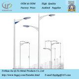 Am meisten benutzt in der einzelner/Doublel Arm-Edelstahl-Lampe Pole
