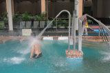 [ستينلسّ ستيل] منتجع مياه استشفائيّة يدلّك آلة تجهيز تأثير صدمة حمام وابل