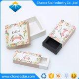 Piccolo contenitore di imballaggio di carta stampato pieghevole su ordinazione del sapone