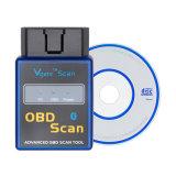 A++качество мини Elm 327 Bluetooth с Pici8f25K80 чип Vgate Obdii бортовой системы диагностики сканирования2 / Elm327 Bluetooth V1.5 сканер штрихкодов бесплатная доставка
