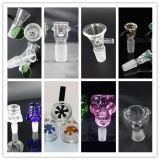 Strumenti di fumo di Dabber della ciotola di vetro degli accessori di vetro di alta qualità di Gldg