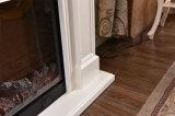 Mantel normal de cheminée avec la décoration et de chauffage