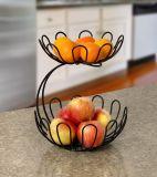 Il nastro metallico 2 strati della frutta Basked supporto