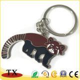 catena chiave del metallo del ricordo di turismo del giardino zoologico di figura dell'orangutan 3D
