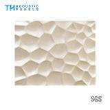 Panneau décoratif intérieur de l'absorption 3D saine de fibre de polyester d'imperméabilisation d'incendie pour le panneau de mur