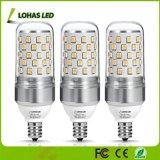 2017 neueste gleichwertige LED Birnen der LED-Kandelaber-Birnen-85W (9Watt) E12 wärmen weißes 2700K