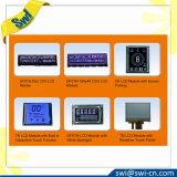 """0.91 """" módulos azules OLED del LCD de la comunicación 12864 de 4-Wire Spi"""