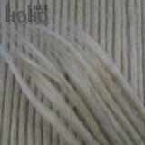 二重緩く終了された18インチのブロンドの人間の毛髪のかぎ針編みDreadlocks