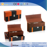 Nuevo diseño paquete promocional de vino de cuero caja de regalo (5783)