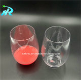 пластичное Stemless стекло красного вина 10oz