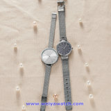 Logotipo personalizado reloj de cuarzo suizo de relojes de pulsera de moda para Couplees WY-17006(E)