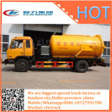 Camion di serbatoio delle acque luride di Rhd o di LHD 4X2 HOWO 12000liters