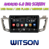 "Witson 10.2 "" Toyota RAV4 2013년을%s Big Screen Android 6.0 Car DVD"