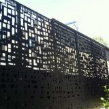 Лазерной резки ПВДФ алюминиевые перфорированные панели саду через забор/ Конфиденциальность ограждения
