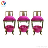 美容院の鉱泉Pedicureのための慰めのフィートのマッサージの椅子は配管の議長を務めない