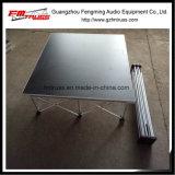 plate-forme en aluminium d'étape de taille d'étape de 1m*1m utilisée