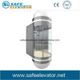 Ascenseur panoramique de passager de petite pièce sans engrenages de machine