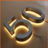 높은 밝은 정면 분명히된 Backlit LED Signage