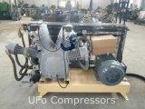 compresor de aire del animal doméstico que moldea 30bar del soplo plástico de alta presión de la botella con el tanque del aire