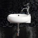 衛生製品は洗面所1055年のための洗面器を壁ハングさせた。 L&R