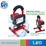 10W-50W COB/SMD impermeabilizan el funcionamiento Emergency recargable de la luz de inundación del &Portable& LED LED