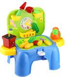 Brinquedo ajustado do vário teatro dos miúdos para o divertimento