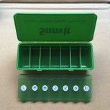 7 Dias Caixa de pílulas de plástico com tampa