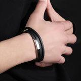 Kundenspezifisches Weinlese-Dreiergruppen-Verpackungs-Leder-Armband