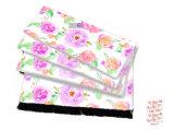 WeomenのためのLilac花100%の絹のスカーフ