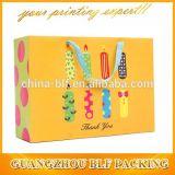 precio de fábrica China Cinta personalizada se encarga de la mano del fabricante de la bolsa de papel (BLF-PB266)