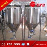 depósitos de fermentación de una sola capa del acero inoxidable 100L