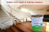 ポリエステルマットの白い木製のペンキの家具のコーティング