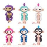 아이들을%s 6개의 대화식 기능 행복한 원숭이를 가진 행복한 핑거 원숭이 아기 장난감
