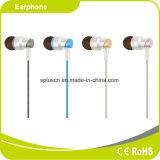 Auricular del oído de la alta fidelidad de la alta calidad 3.5m m para el iPhone y Samsung de Xiaomi