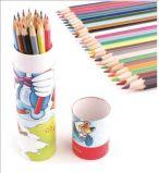 ロゴカラー鉛筆の卸売と最上質学校学生