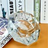 Nam Transparante Asbakje van het Asbakje van het Kristal van de Stijl het Creatieve toe