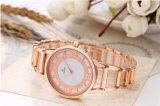Il lusso ultra sottile superiore dell'orologio del quarzo del visualizzatore analogico della fascia dell'acciaio inossidabile delle vigilanze delle donne di marca guarda 71332