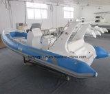 Barcos de la velocidad de la consola de centro del barco de mar de Liya el 17FT para la venta