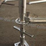 Collier/hors-d'oeuvres de base galvanisés pour l'échafaudage de Ringlock