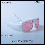 45% transmitância de 755nm e 808nm óculos de segurança de laser de Laserpair