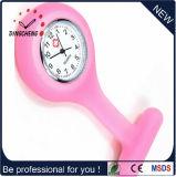 La casella del silicone di promozione personalizza la vigilanza del quarzo dell'infermiera di colore (DC-1144)