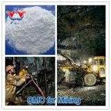 Polvo del CMC de la celulosa carboximetil de sodio del grado de la explotación minera