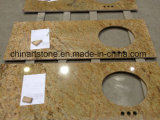 China/ Granito amarillo indio Vanitytop para baño y azulejos de Cachemira (oro)