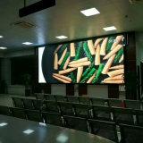 P8 a todo color de interior fijados instalan la visualización de LED montada en la pared de la pantalla de la muestra de Digitaces de los media de publicidad