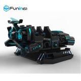 Dos assentos novos da máquina de jogo 6 da arcada da tecnologia de Zhuoyuan Gti simulador escuro do cinema 9d Vr de Marte Vr