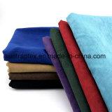 Четыре спандекс трикотажные велюр ткань для женской одежды
