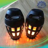 IP65 4.2 Portable Bluetooth LED lámpara de fuego de llama Altavoces Stereo Luz suave, altavoz Bluetooth al aire libre