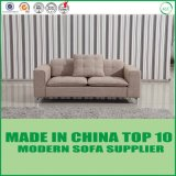 Sofá europeu moderno da tela da mobília da sala de visitas