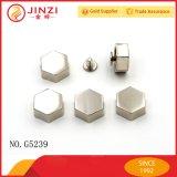 Jinzi 핸드백 나사 모양은 금속 Decoractive 리베트를 리벳을 박는다
