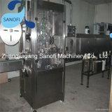 Machine à étiquettes verticale automatique de bouteille ronde de chemise
